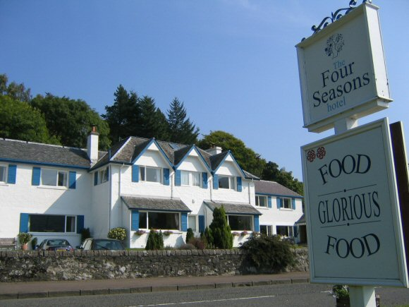 The Four Seasons Hotel Loch Earn