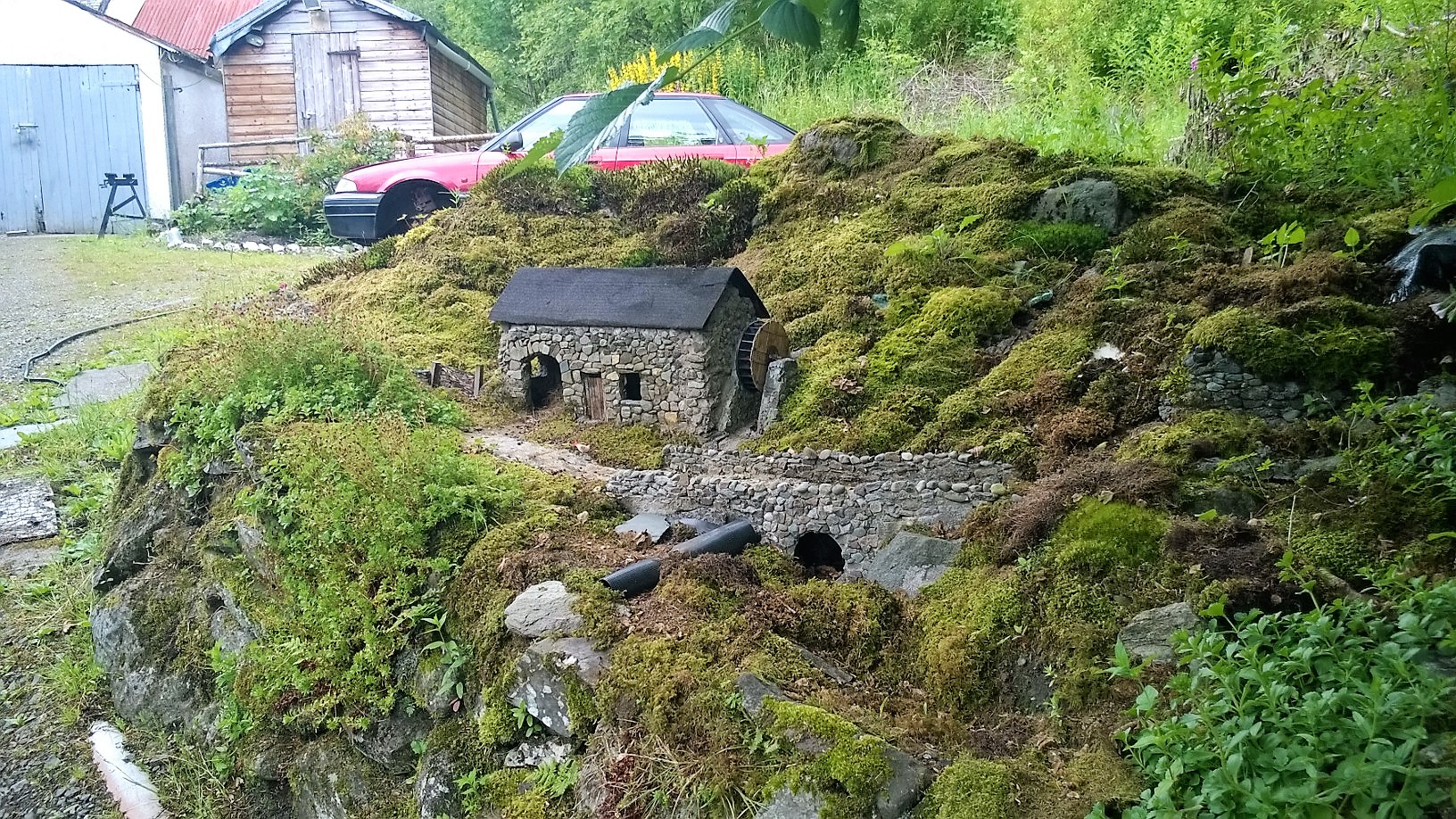 Miniature Mill House Strathyre