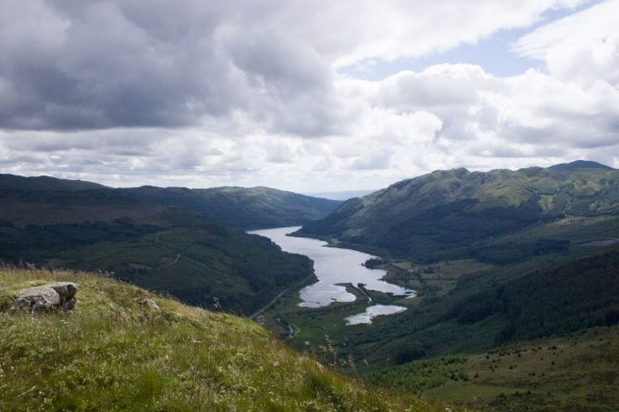 Strathyre, Trossachs and Loch Lomond National Park
